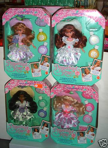Peppermint rose dolls by Mattel | Katrinas Toy Blog