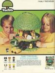 Magazine advertisement for Treetot treehouse playset