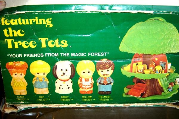 1975 Kenner Tree Tots Tree House Toy By Fisher Price