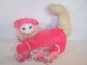 1992 Hasbro Kitty surprise with 3 kittens