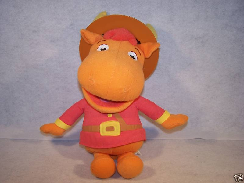 2005 Backyardigans talking mountie Tyrone Fisher Price