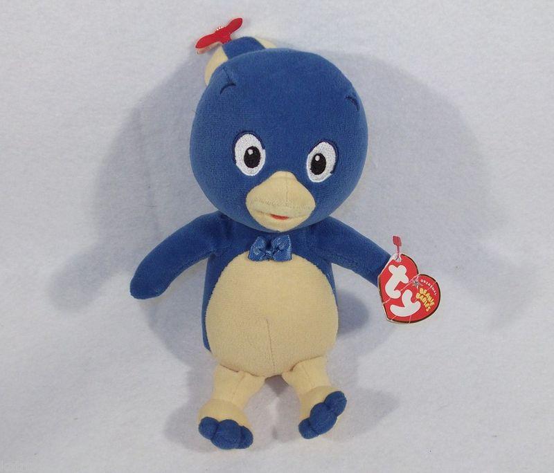 "Backyardigans PABLO the blue bird 8"" Plush toy doll TY"
